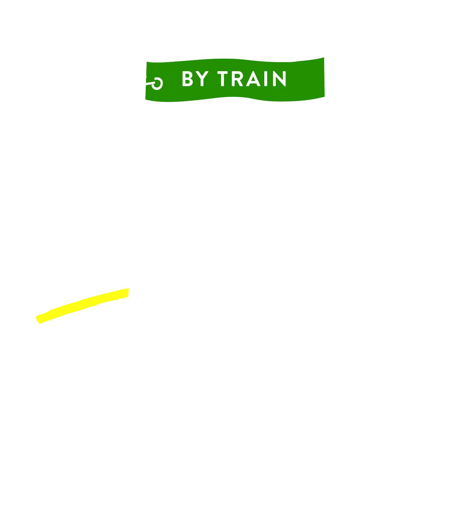 BY TRAIN電車で小豆島へ!POINTお友達と行くなら電車がおすすめ!日生駅から岡山日生港まで1分の近さ!小豆島では、レンタカー、レンタサイクルなどもあります。